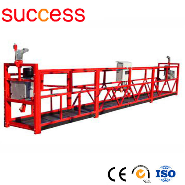 Hot Galvanized Wire Rope Suspended Platform/Suspended Scaffolding ...