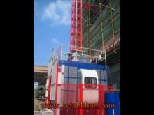 1 5 Ton Single Cage Construction Hoist