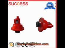 2*1000kg Sc100/100 Series 1t Construction Hoist