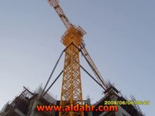 5 axle tower crane