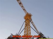 6 axle mobile tower crane
