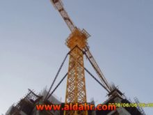 6 axle tower crane