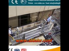 8 3mm spraying steel counterweight suspended platform