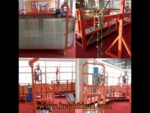 Advanced Rope Platform Scaffolding System