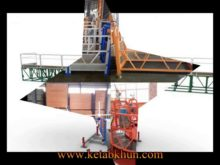 Aerial Zlp Window Cleaning Equipment/Gondola/Cradle