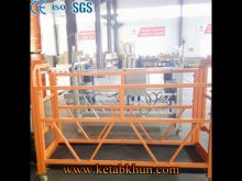 Anti Corrosion Suspended Platform/ Boom Lift