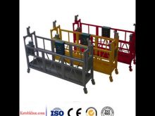 Anti Tilted Zlp630 Suspended Platform