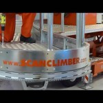 Any shape – any height: Snake platform system for use on Scanclimber mast climbing work platforms