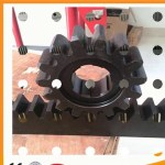 Black Or Galvanized Color Alloy Gear Rack