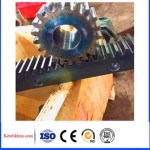 Black Plastic Spur Gear