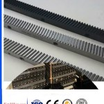 Black Pom/Plastic/Nylon Helical Gears