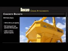 Boscaro Concrete Bucket