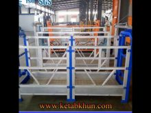 Building Construction Aluminum Lift Platform