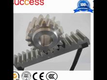 Building Elevator Spare Parts Rack And Pinion Jack/Cnc High Precision Rack And Pinion