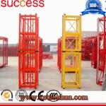 Building Used Single Cage Painting Mast Section Construction Hoist
