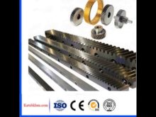 C45 High Precision Spur Gear And Gear Rack