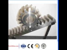 C45 New Type Rack And Pinion Small Rack Pinion Gears& Gear Rack For Sliding Gate