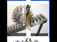 C45 Steel M1 M10 Hoist Spur Gear Rack