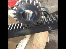 C60 M8 Construction Elevator Steel Gear Rack