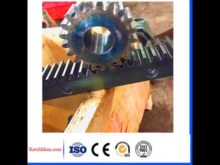 Cast Iron High Precision Spur Gear Rack And Pinion Gear