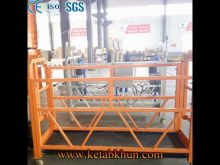 Ce Approve Large Space Steel Suspended Platform