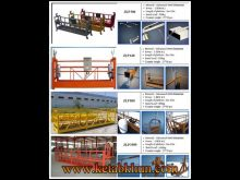China Aerial Zlp 630 Suspended Working Platform