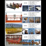China Aerial Zlp 630 Suspended Working Platform