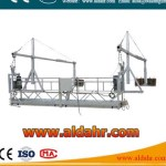 china gondola Suspended Platform 6m window cleaning platform 630kg loading construction cradles