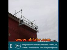 China manual ZLP800 ZLP630 series rope suspended platform
