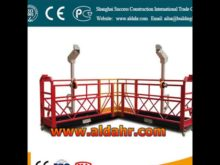 China Supply Aluminum ZLP 630 Hoist ZLP630 Suspended Platform