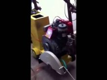 Concrete Cutter Machine Greaves Diesel Engine