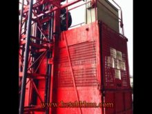Construction Elevator, Double Cage Electric Construction Hoist for Sale 1