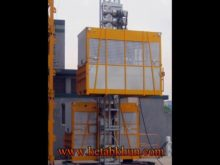 Construction Elevator Double Cage