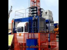construction hoist cost