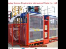 construction hoist dwg