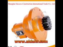Construction Hoist Saj30 1 2 Sribs Safety Devices