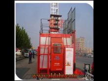 Construction Hoist Single Cage 2X2000kg