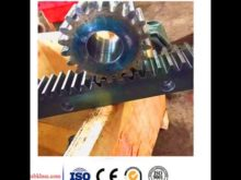 Construction Hoist Spare Parts Custom Gear Rack And Pinion Gear Stainless Steel Gear Rack