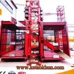 Construction Skip Hoist Concrete Mix Plant Equipment