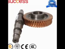 Crown Wheel And Pinion Gear Bevel Gear