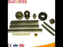Crown Wheel & Rack And Pinion Gears Transmisson Parts For Paper Shredder