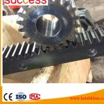 Custom Nonstandard Ring Gear Stainless Steel Internal Spur Gear