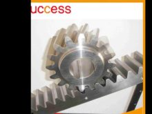 Custom Pinion Gears Ring & Crown Gear Wheels / Stainless Steel Teething Ring