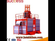 Distributor Liked Hiqh Quality Sc200 Single Cage&Double Cage Construction Hoist