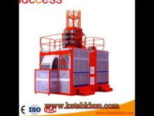 Distributor Liked Sc200 / 200 Double Cage Hiqh Quality Building Hoist Use Best Material