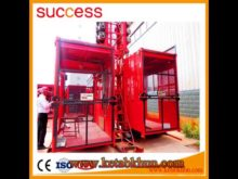 Double Cage Building Hoist Construction Hoist