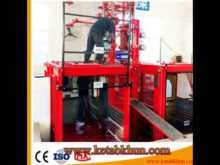 Double Cage Hoist Good Performance of Construction Equipment