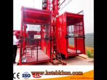 Double Cages Building Construction Hoist Saled to Israel Market