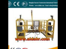 Easily operate 800kg hoist suspended platform Factory