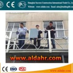 electric cradle/suspended platform/gondola for window cleaning machine